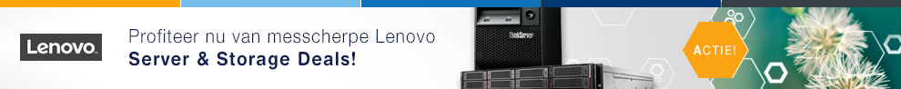 Messcherpe Lenovo Server & Storage acties