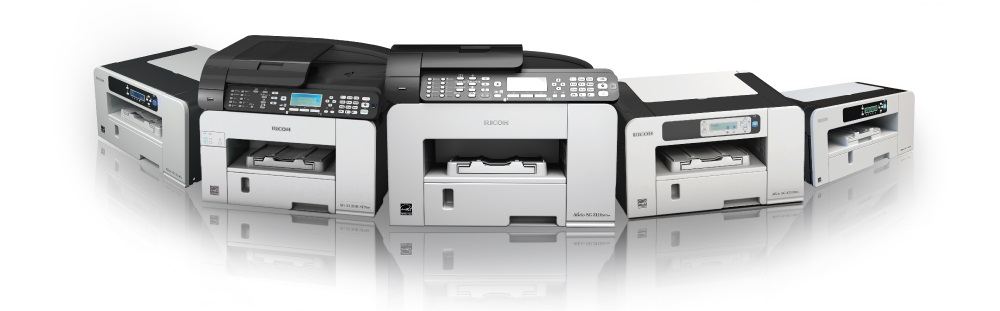 Ricoh Geljet printers