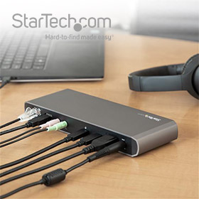 Nu 30 dgn gratis StarTech.com demo docking station