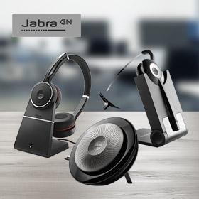 Tot € 35,- cashback op diverse Jabra producten