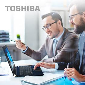 Gratis Toshiba TB3 Docking bij X30-D laptop
