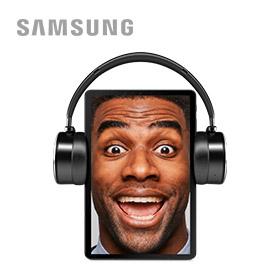 Gratis AKG headphone bij Samsung Galaxy Tab S4