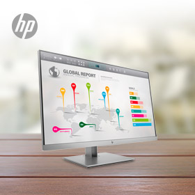Tot € 100,- cashback op HP 27 inch monitoren!