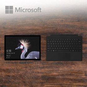 Bundelkorting op de Surface Pro 5 & Type Cover