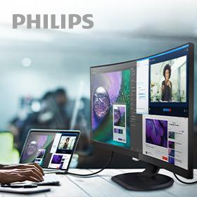 Philips LCD-monitoren, veelzijdig en duurzaam