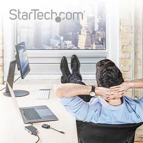 Stap makkelijk over met StarTech.com