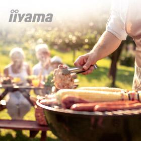 Maak met iiyama kans op een Weber BBQ