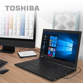 Toshiba vakantieknallers