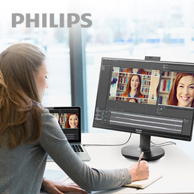 Ontdek het Philips USB-C dockingmonitoren portfolio