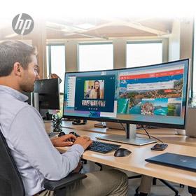 €100 cashback op HP monitoren