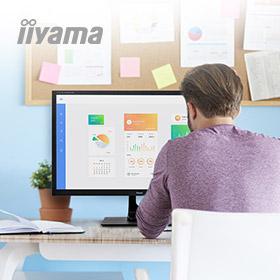 iiyama thuiswerkplek voorziening