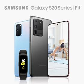 Blijf fit met de Samsung Galaxy S20