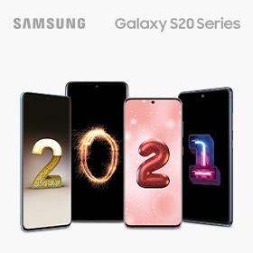 €100 retour bij een Samsung Galaxy S20