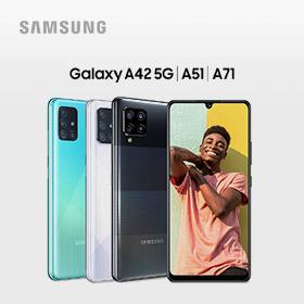 €50 retour bij Galaxy A42 5G, A51, A71