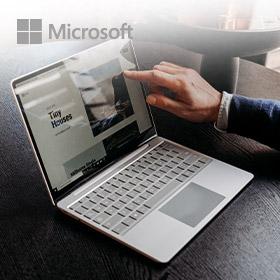 Tot €100 op Microsoft Surface Laptop Go