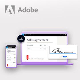 Nu 50 Adobe Sign handtekeningen voor 1 euro